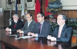 Conferência de imprensa no Hotel Meliá em Braga - 17 Janeiro 2015