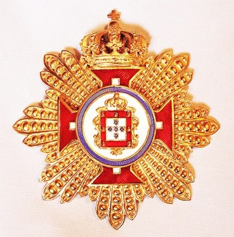 Grand Cross Breast star for the Order of Merit of the Royal House of Portugal