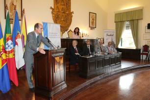 SA o Senhor Dom Francisco de Bragança Van Uden, em representação de SAR O SENHOR DOM DUARTE DE BRAGANÇA, Chefe da Casa Real Portuguesa