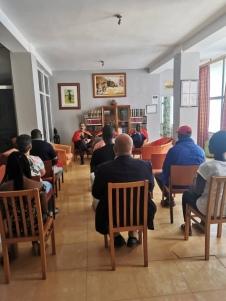 Reunião da ALAB, Hotel Coimbra, Bissau.