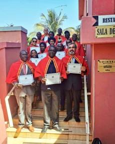 Sessão Solene de Tomada de Posse de Novos Académicos, Bissau.